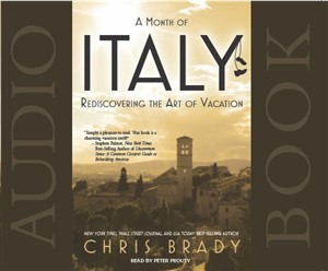 Audiobook - A Month of Italy by Chris Brady